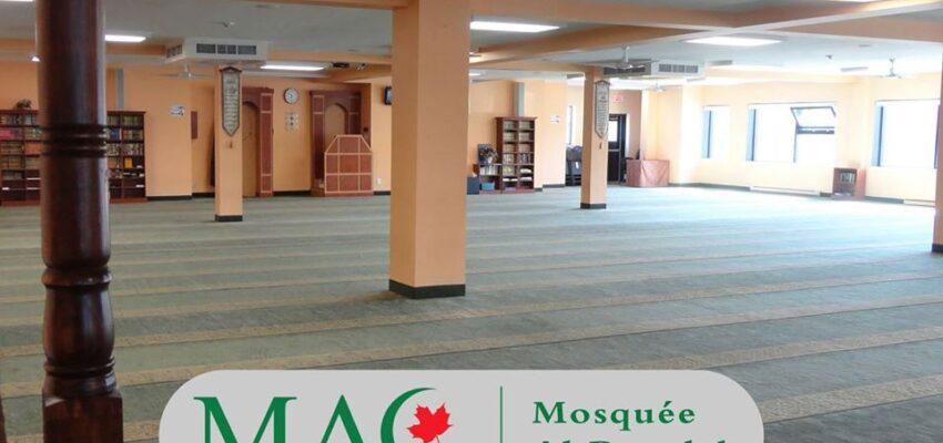 أشهر مساجد كيبيك الكندية مسجد الروضة فى مونتريال