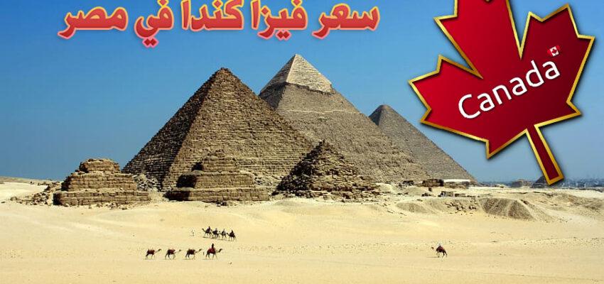 سعر فيزا كندا في مصر 2020-2021