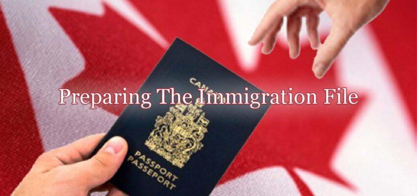 متطلبات إعداد ملف الهجرة الى كندا
