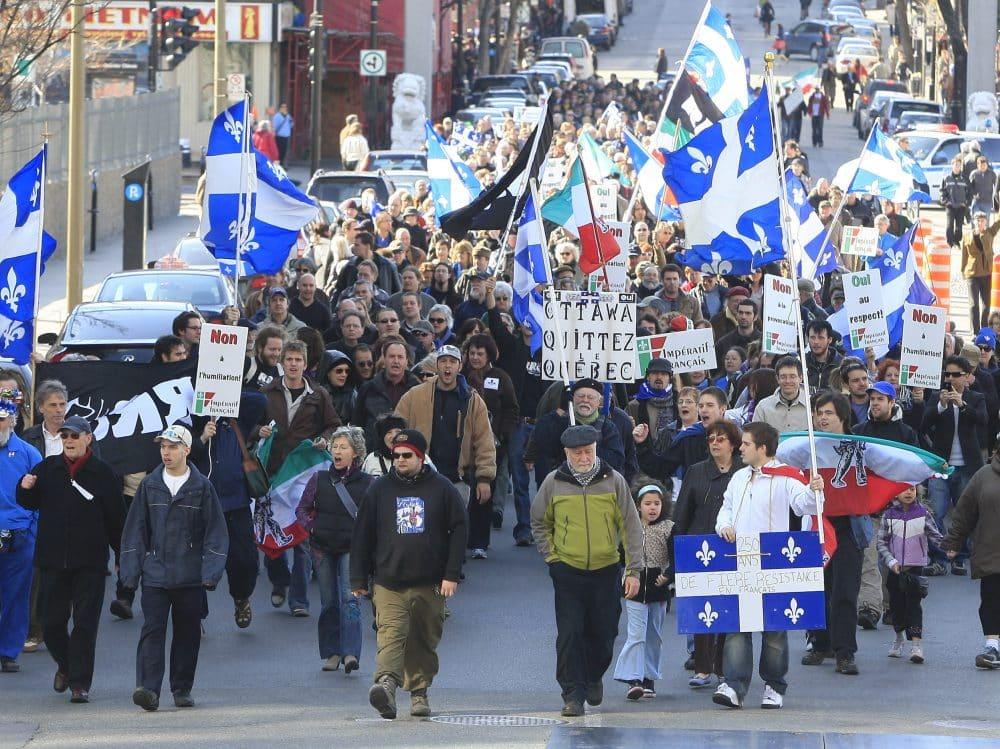 احتجاجات فى كندا لرفض الإجراءات الجديدة على برنامج الهجرة الى كيبيك