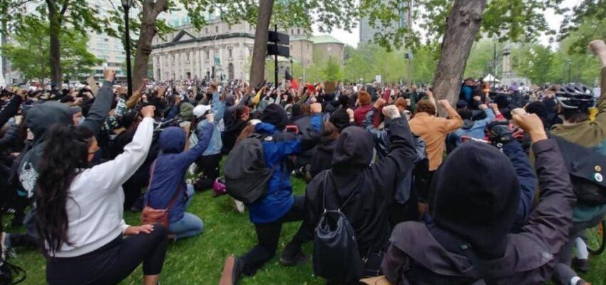 احتجاجات في مونتريال وأوتاوا ضد العنصرية