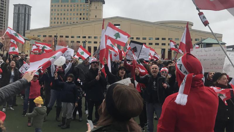 تطور الاحداث في لبنان تقلق الكنديين اللبنانيين داخل كندا