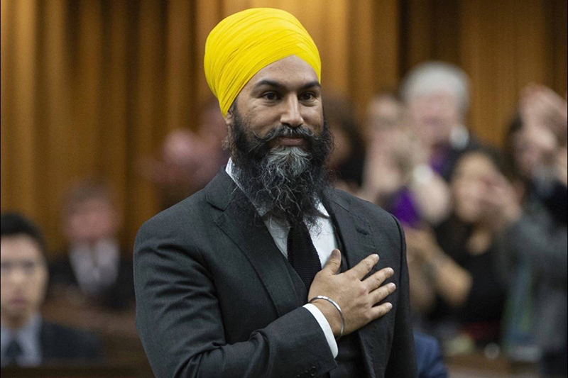 طرد جاغميت سينغ زعيم الحزب الوطنى خارج مجلس العموم الكندى