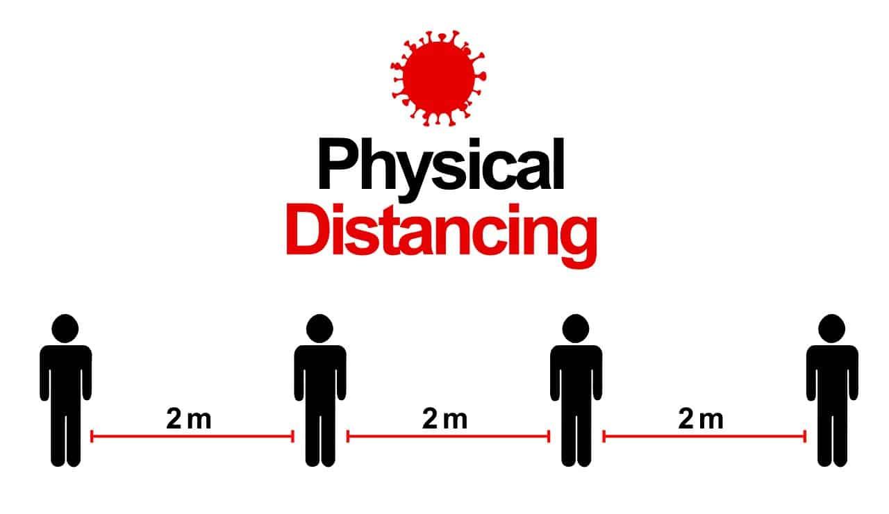 عدد كبير من الكنديين يريدون الإبقاء علي مسافة التباعد الجسدي