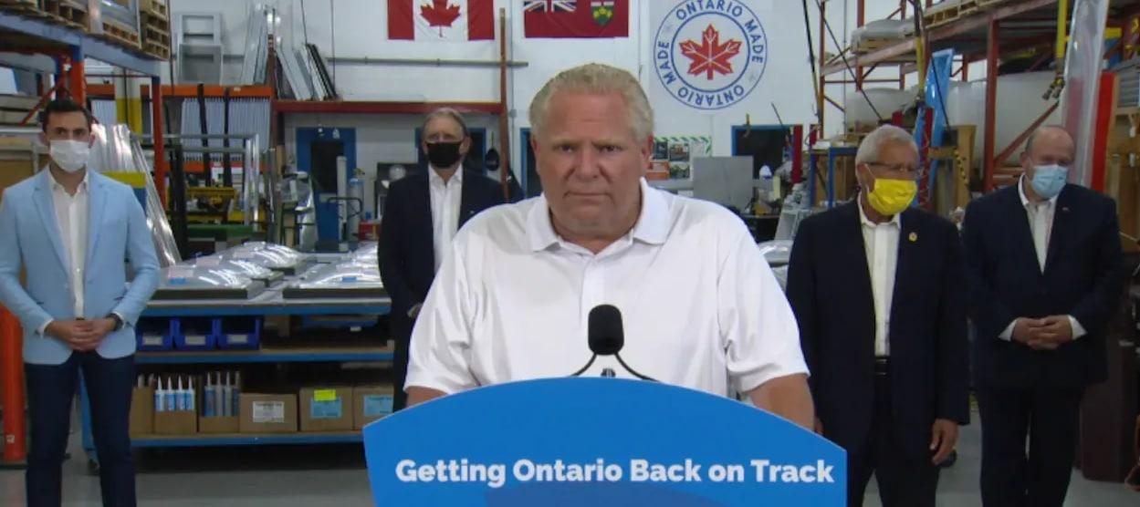 أونتاريو تمدد أوامر الطوارئ حتى 22 يوليو