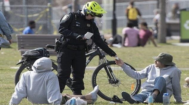 إجراءات جديدة لشرطة مونتريال لتقليل توقيف الأشخاص العشوائى