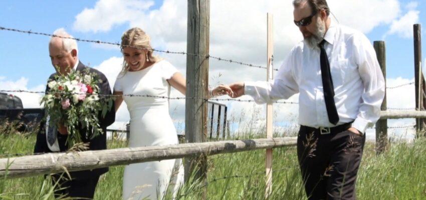 إقامة حفل زواج عبر الحدود الكندية الامريكية التى أعلن ترودو ببقائها مغلقة
