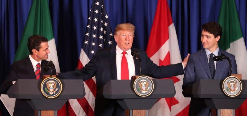 الولايات المتحدة تعمل على تنفيذ اتفاق التجارة الحرة داخل كندا و امريكا الشمالية