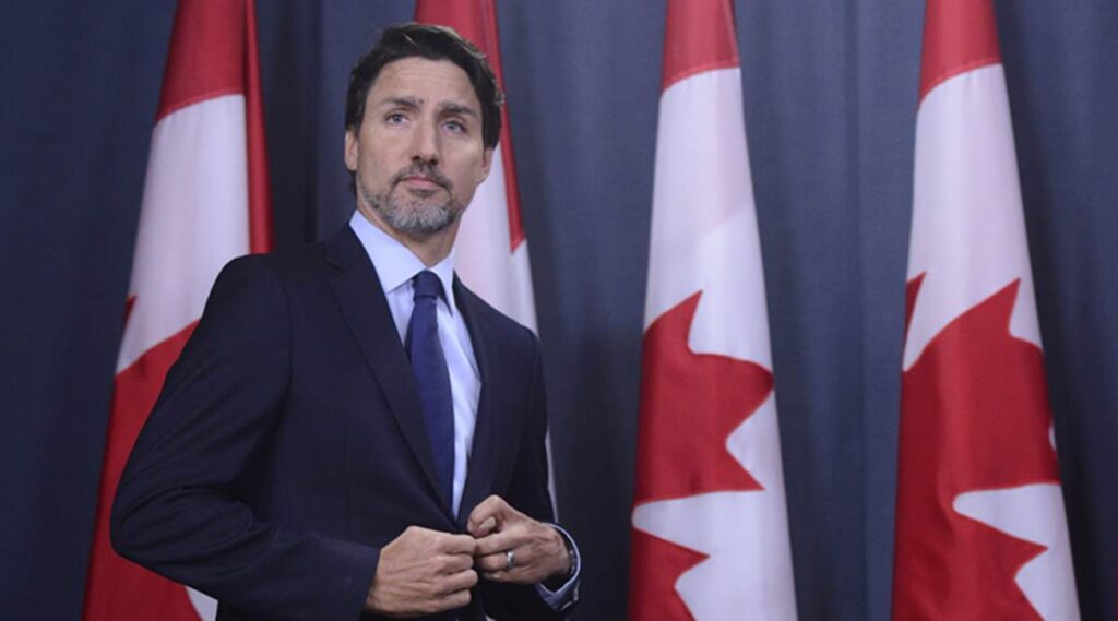 جاستن ترودو رئيس وزراء كندا