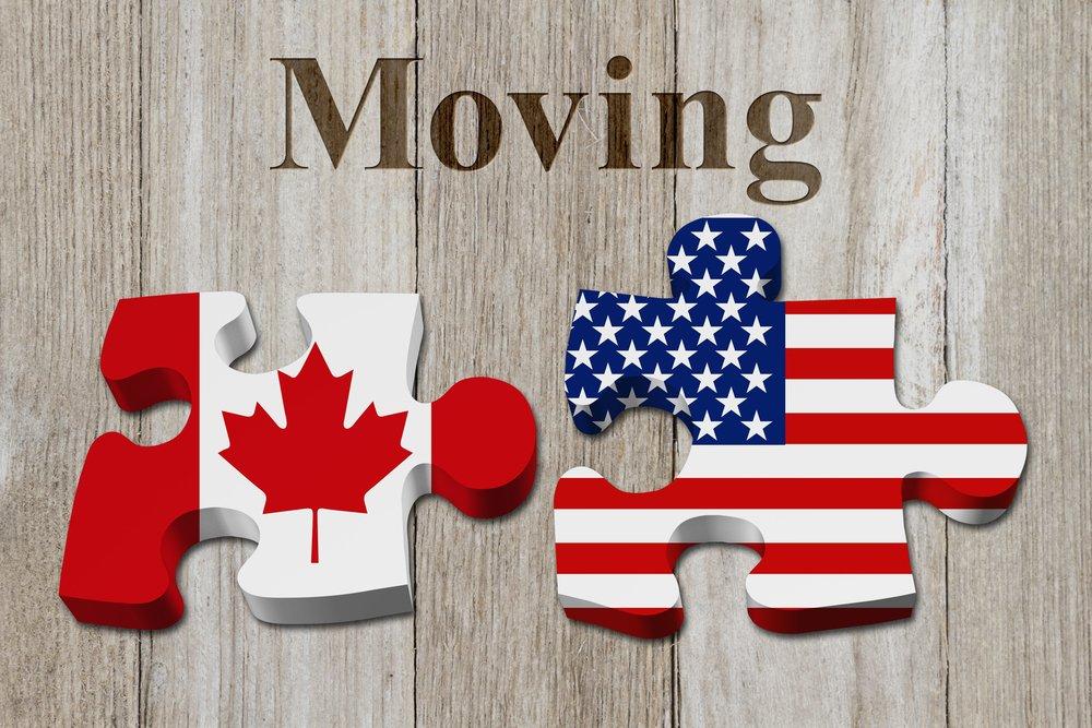 كل ما يخص الهجرة من الولايات المتحدة إلى كندا