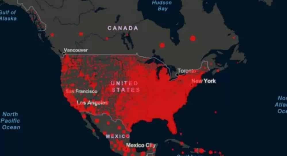 كندا تتعامل مع انتشار فيروس كورونا أفضل من الولايات المتحدة