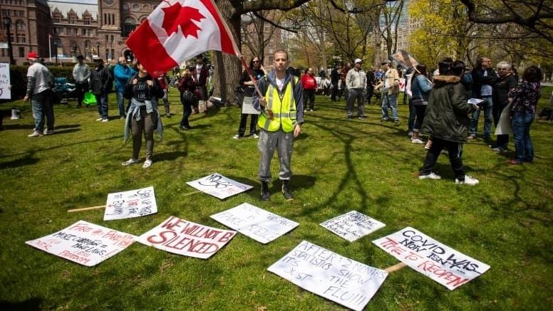 أزمة صحة عامة داخل كندا بسبب نظرية المؤامرة