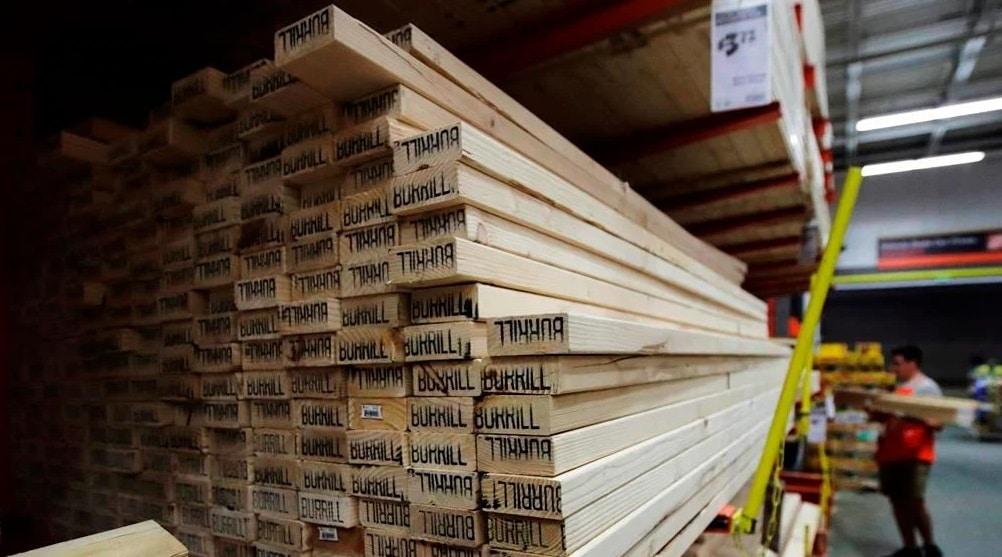 ارتفاع تكاليف البناء فى كندا بالتزامن مع زيادة أسعار الخشب