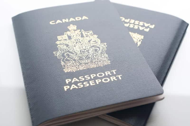 الباسبور الكندى Canadian Passport