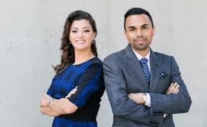 Zeeshan & Karina Hayat