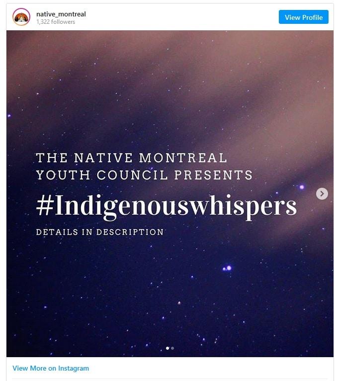 حملة الهمس فى كندا للتعريف بلغات السكان الأصليين