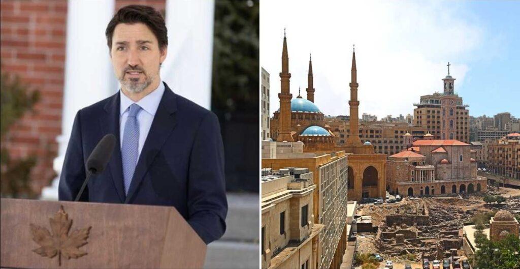 علاقة صداقة قوية بين كندا و لبنان تجعل ترودو يشير لتقديم المزيد من المساعدات