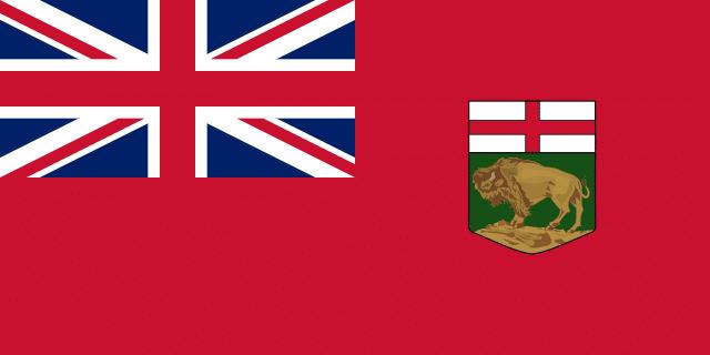 علم مقاطعة مانيتوبا الكندية