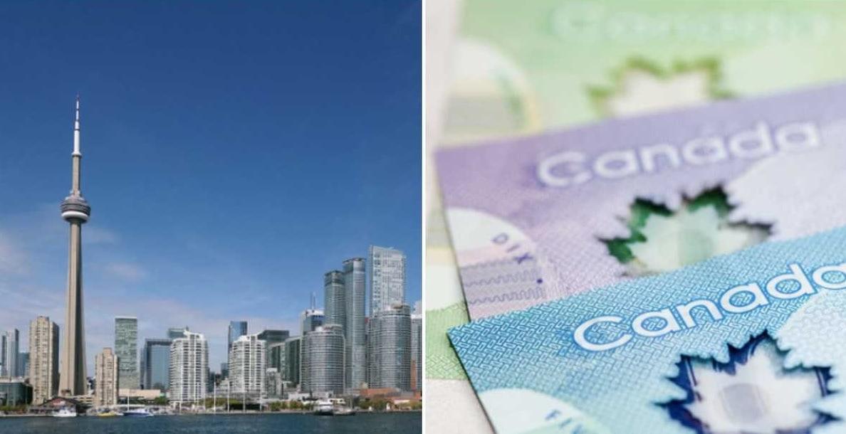 قيمة الدخل و مصاريف العيش فى أونتاريو المناسبة