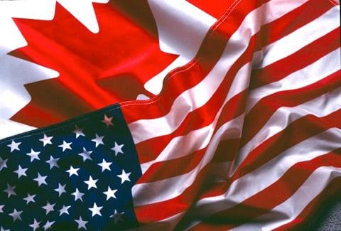 مقارنة مابين الحياة فى كندا و الحياة فى أمريكا
