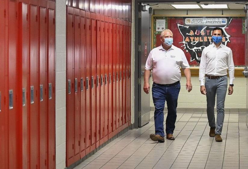 مقاطعة اونتاريو توافق على تأجيل موعد الرجوع إلى المدارس