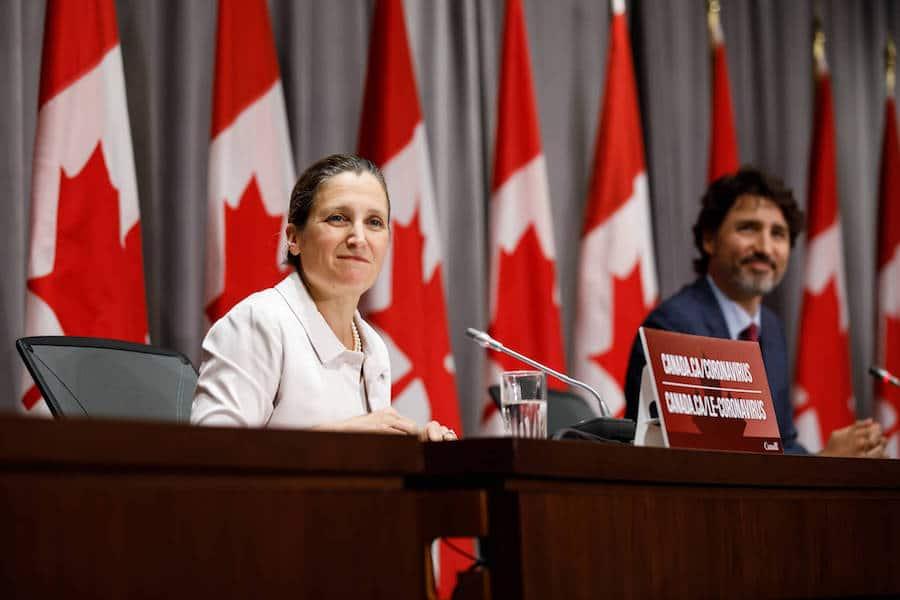 وزيرة المالية كريستيا فريلاند الجديدة تواجه تحديات كبيرة