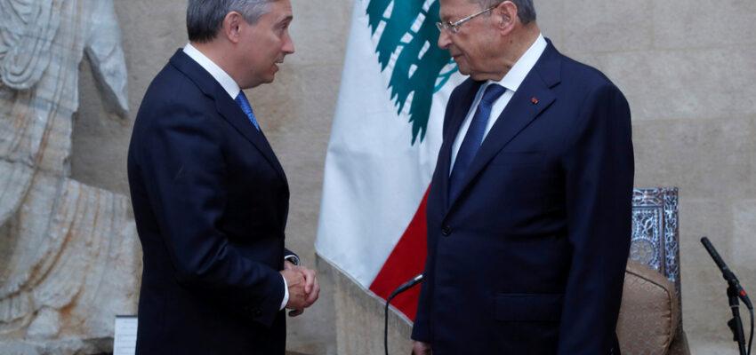 وزير الخارجية الكندى فى لبنان و يؤكد تضامن كندا مع شعب لبنان