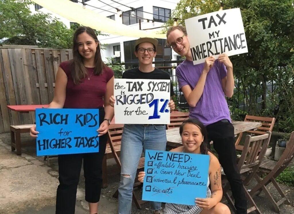 أغنياء كندا من الشباب يطلبوا دفع المزيد من الضرائب
