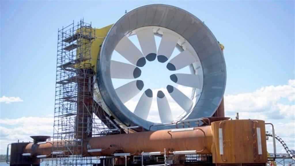 إستثمار حكومة كندا 9.4 مليار دولار فى مشاريع طاقة المد و الجذر