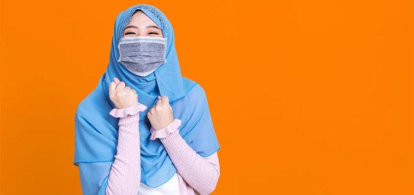 المهاجرون الجدد يخيطون أقنعة مريحة للحجاب