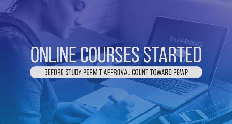 بدأت الدورات التدريبية عبر الإنترنت قبل اعتماد تصريح الدراسة فى برنامج العمل بعد التخرج