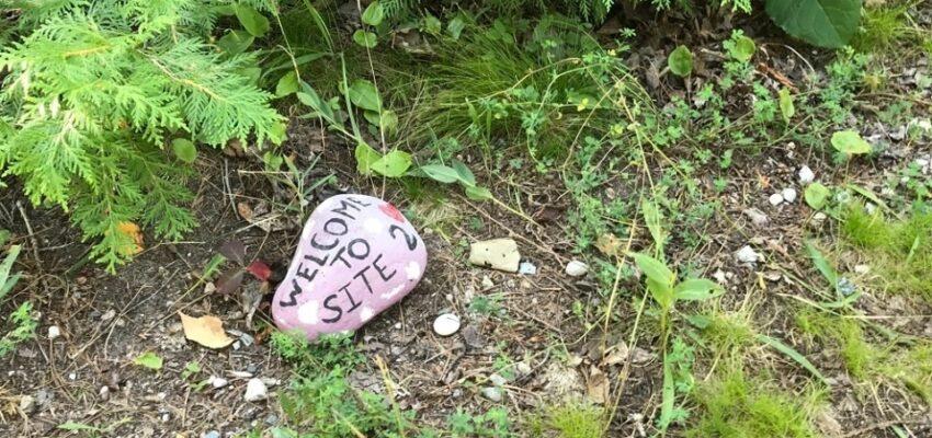 تحذير من ترك الصخور الملونة فى حدائق مقاطعة أونتاريو