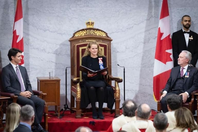 حكومة ترودو الليبرالية تعلن الأولوية لرعاية الأطفال و الرعاية الصحية فى خطاب العرش القادم