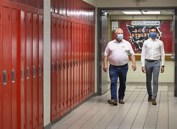 فورد يطلب من نقابات المعلمين بالتوقف عن إدعاءات نهاية العالم