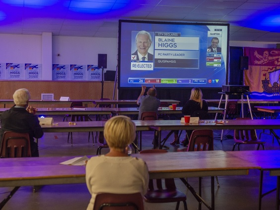 فوز المحافظون التقدميون فى نيو برونزويك بالأغلبية فى الإنتخابات التشريعية