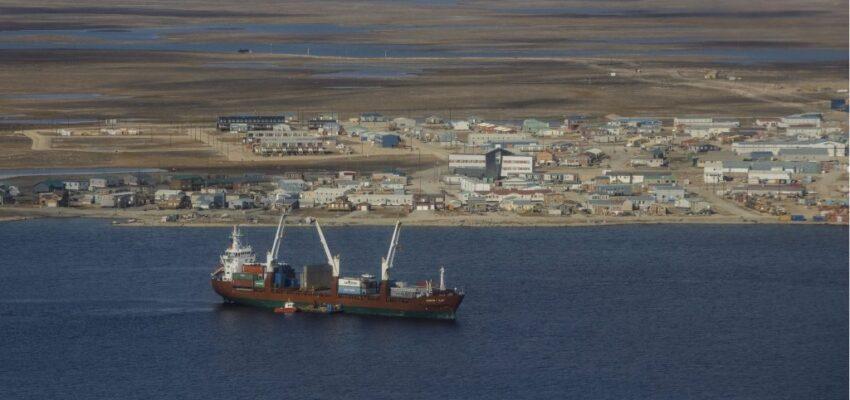 الزيادة الهائلة فى استهلاك الوقود فى الشحن فى القطب الشمالى