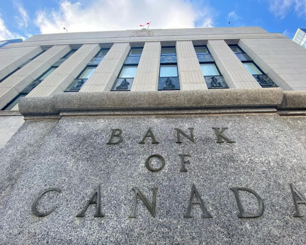 بنك كندا  الفوائد ذات معدل منخفض طويل الأجل