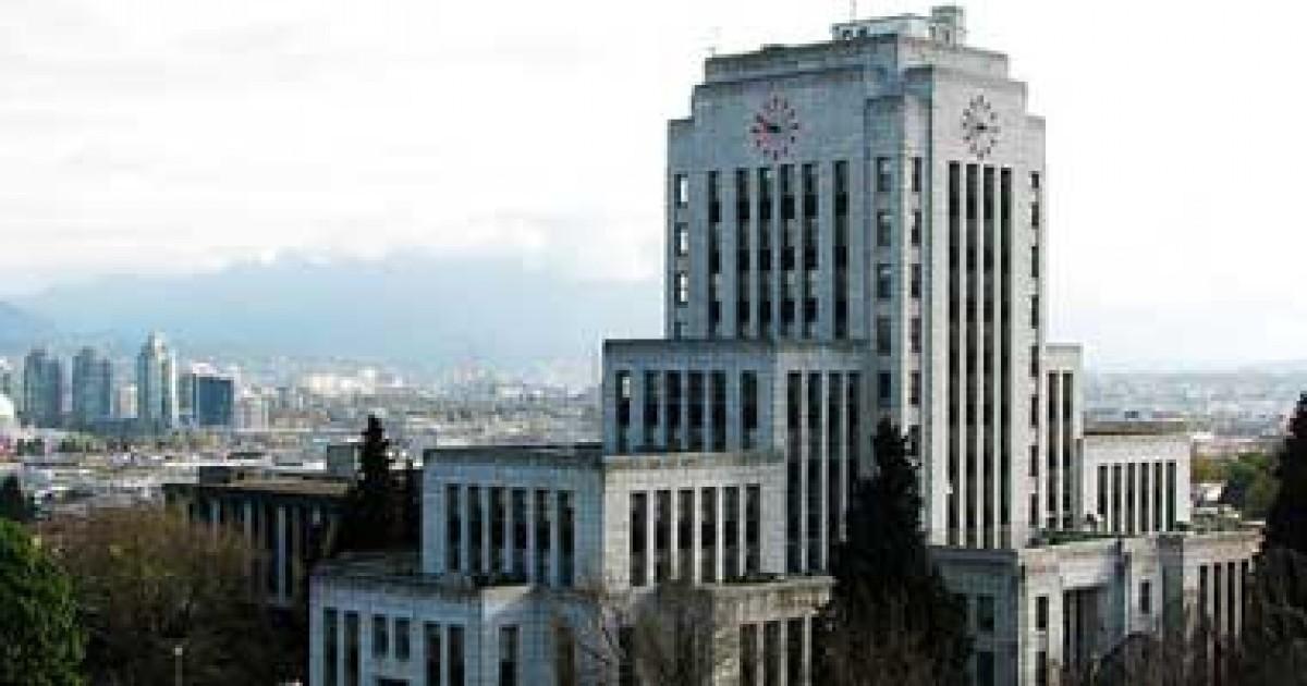 تؤدى التأخيرات فى تصريح مدينة فانكوفر إلى خسارة قدرها 722000 دولار لكل شركة