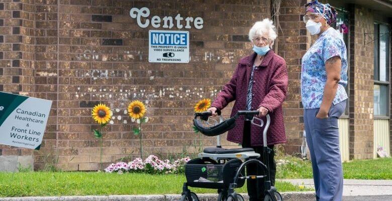 تقرير جديد عن مراكز رعاية المسنين فى أونتاريو
