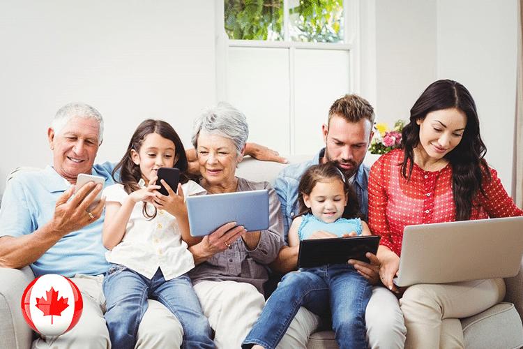 طريقة رعاية الآباء و الأجداد للهجرة الكندية