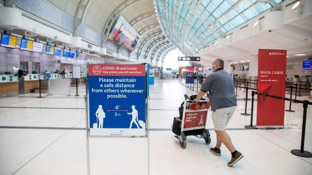 كندا تطلق خطة تجريبية لتقصير الحجر الصحي عند الوصول الى كندا