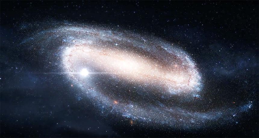 مشروع جديد يتيح لك الاستماع إلى مركز مجرة درب التبانة