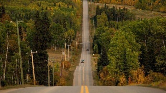 معلومات عن طول شبكة الطرق الكندية
