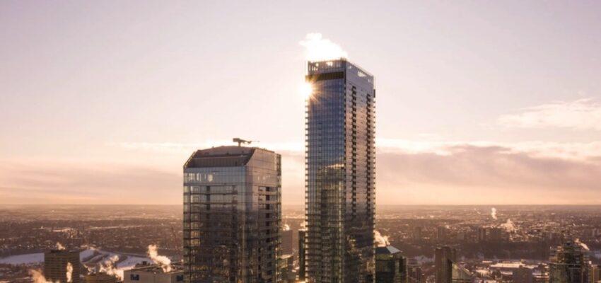 168 شقة فاخرة في أطول برج في غرب كندا تؤجر الآن مساكن