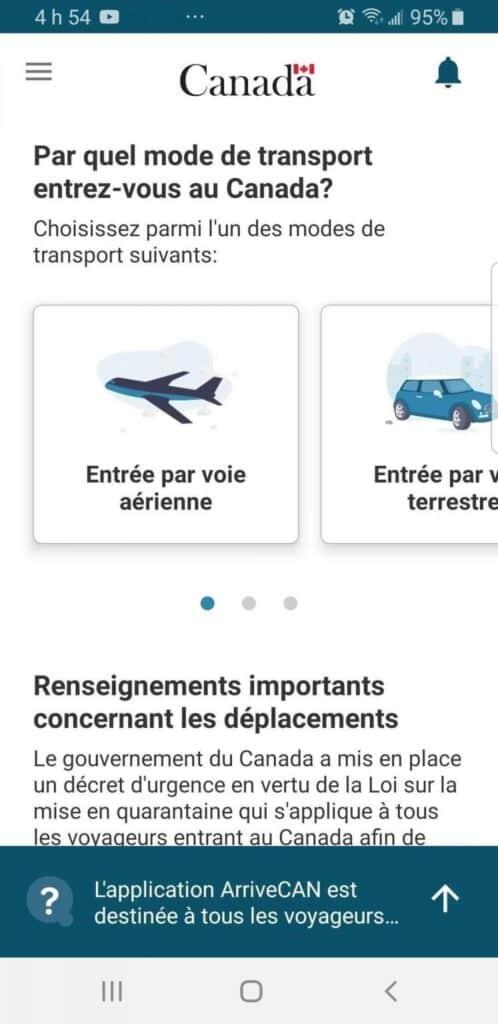 خطة جديدة للحجر الصحى على المسافرين إلى كندا قبل ركوبهم الطائرة