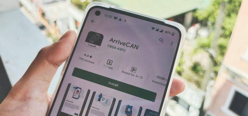 يجب على المسافرين إلى كندا الآن استخدام تطبيق ArriveCAN