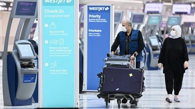 أكثر من 7 ملايين مسافر دخلوا كندا منذ بداية وباء كوفيد-19