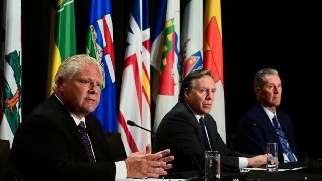 إنخفاض الثقة فى بعض القادة الكنديين وسط تصاعد الوباء