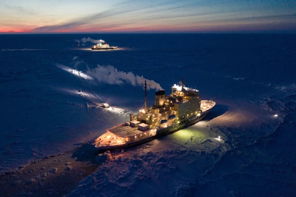 تغيرات القطب الشمالى ثلوج أقل وأكثر دفئ وأكثر إشراق