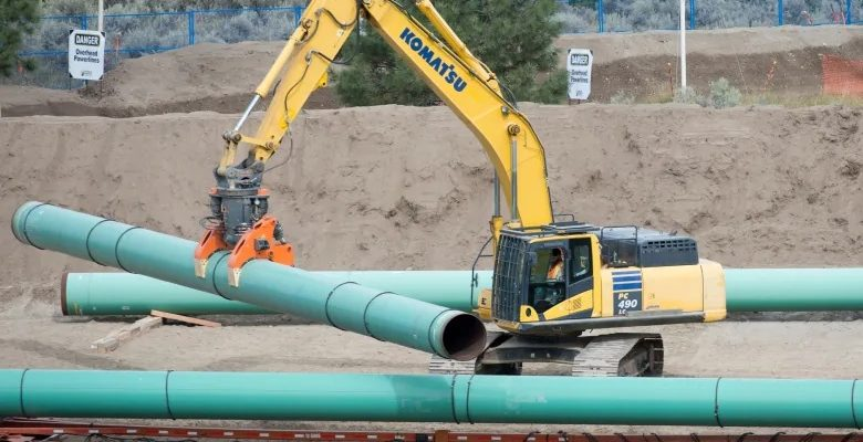 تم إغلاق مشروع خط الأنابيب المثير للجدل مؤقتا بسبب مشكلات تتعلق بالسلامة